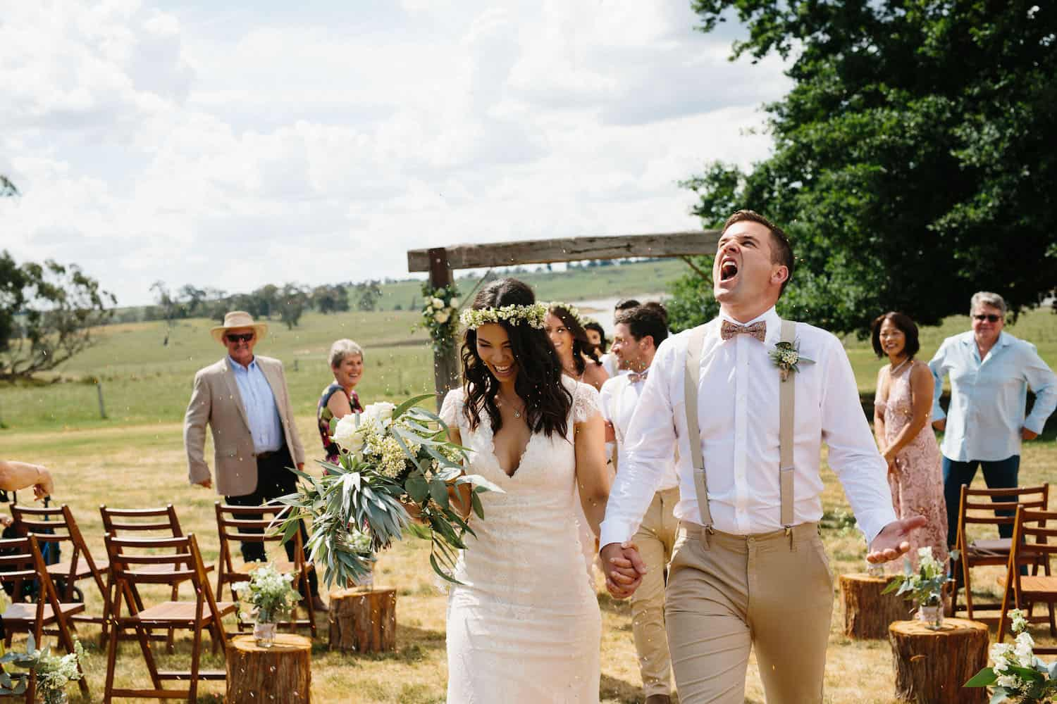 Gorgeous Rustic Country Wedding Malsbury VIC Best Wedding Photographer Melbourne Madeleine Chiller Photography