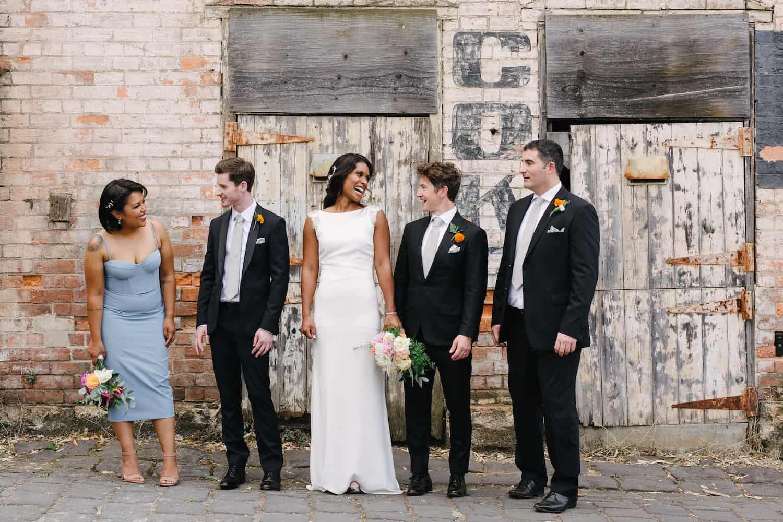 Abbotsford Convent Wedding Ceremony Adel and Pauls Destination Wedding Photographer Madeleine Chiller 23