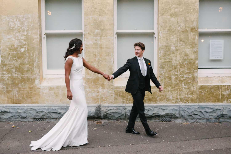 Abbotsford Convent Wedding Ceremony Adel and Pauls Destination Wedding Photographer Madeleine Chiller 38