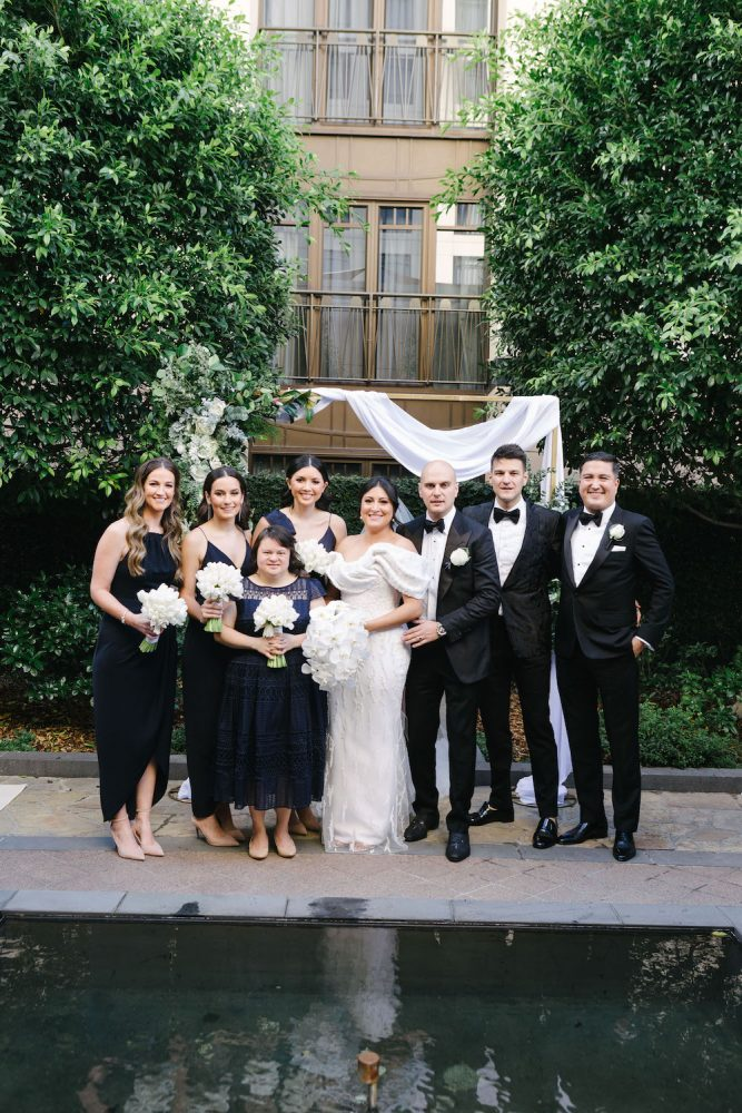 The Glasshouse Luxury Weddings Park Hyatt Melbourne Wedding Madeleine Chiller Photography